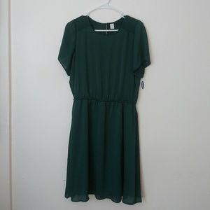 Old Navy green dress